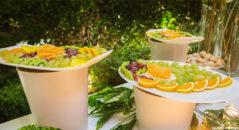 Il buffet di frutta
