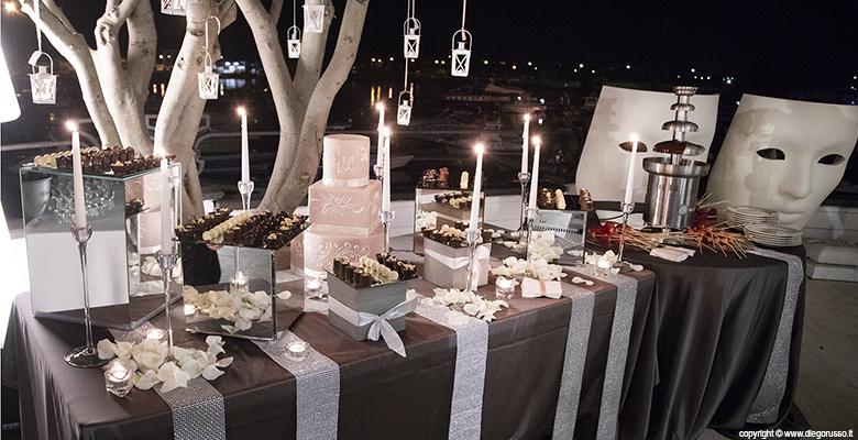 Matrimonio - l'angolo del cioccolato