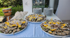 Ostriche al buffet