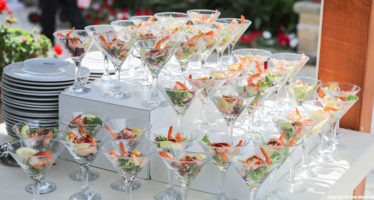 Buffet: cocktail di gamberetti