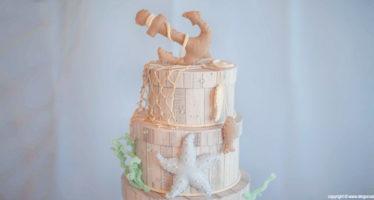 Cake topper: il mare