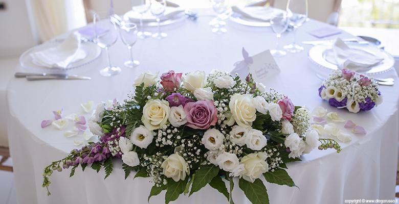 Matrimonio In Glicine : Tema glicine il centrotavola fotografo matrimonio napoli
