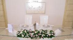 Il tavolo d'onore
