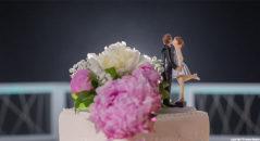 Cake topper: il bacio