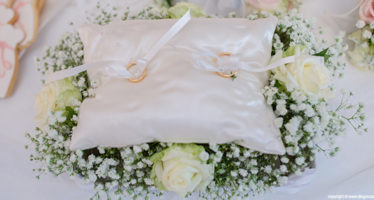Fedi nuziali: il cuscino