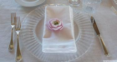 Segnaposto matrimonio: la rosa profumata