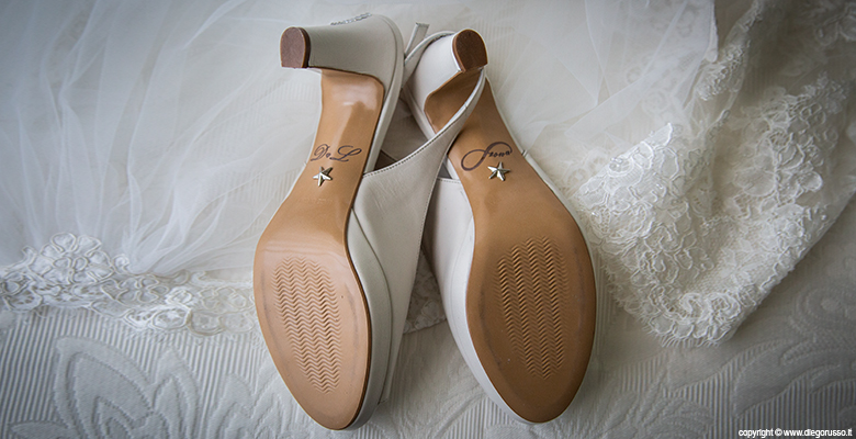 Bride: scarpe personalizzate