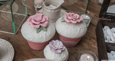 Sweet table: dolcetti dal tocco shabby