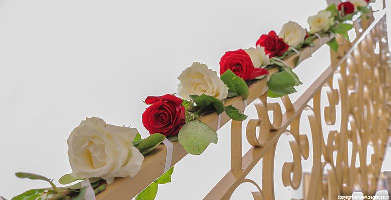 Tema wedding: le rose