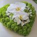 Wedding: portafedi floreale