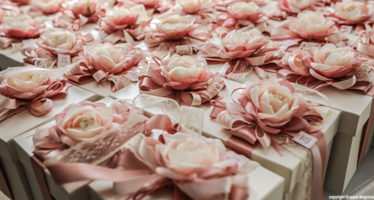 Wedding: un tocco di rosa