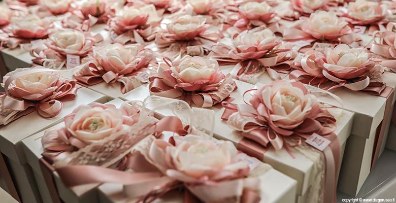 Wedding: un tocco di rosa