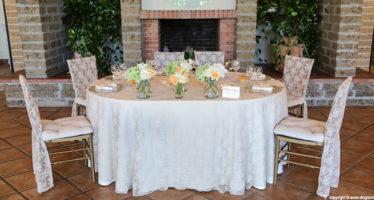 Wedding: il tavolo degli sposi