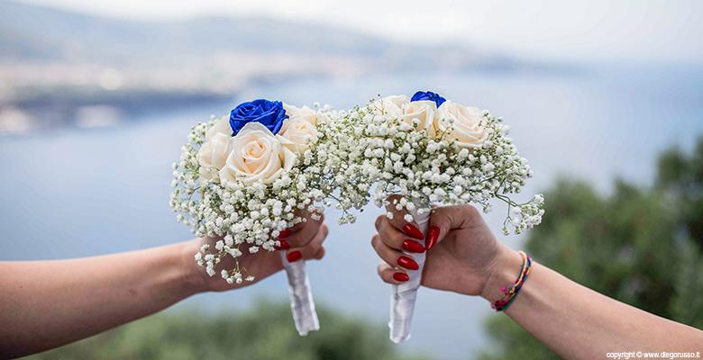 Damigelle e bouquet