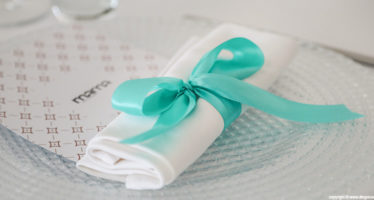 Wedding in tema verde tiffany