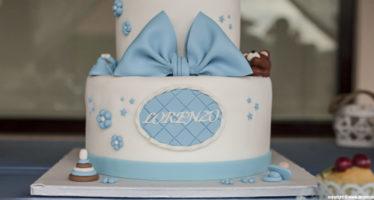 Cake: dettagli da battesimo