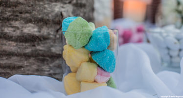 Marshmallows colorati