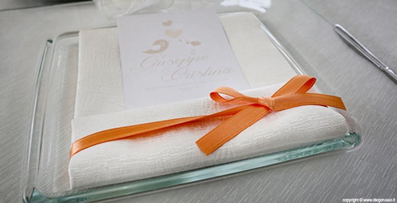 Tema wedding: color arancio
