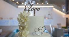 Un amore di cake topper