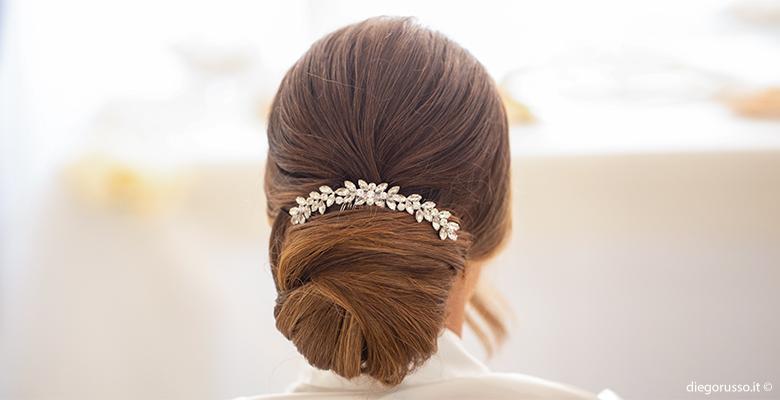 Bride: un'acconciatura romantica
