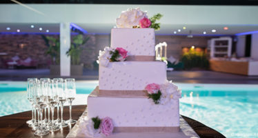 Matrimonio: una torta elegante