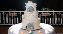 Ortensie per torta nuziale