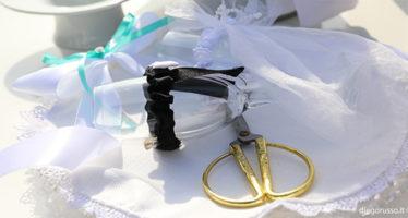 Wedding: taglio e brindisi