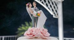 Cake topper: gli sposi