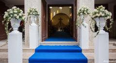 Matrimonio in tema blu