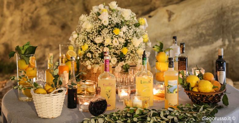 Wedding: l'angolo limoncello