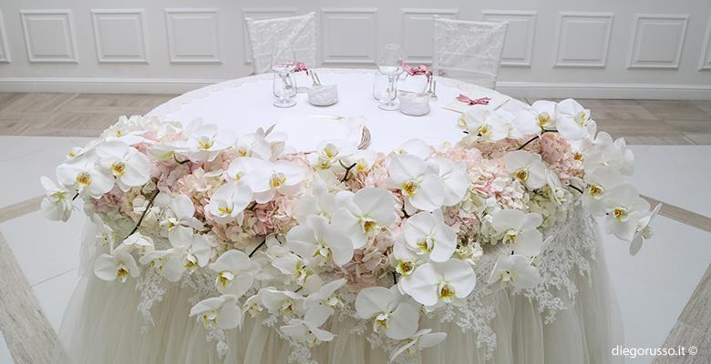 Segnaposto Matrimonio Orchidea.Centrotavola Di Orchidee Fotografo Matrimonio Napoli Diego