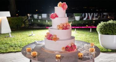 Elegante wedding cake