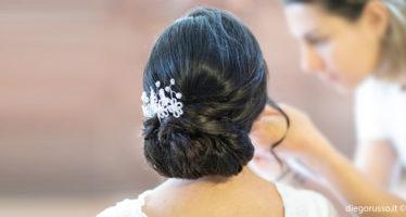 L'acconciatura da sposa