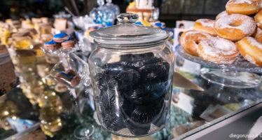 Sweet table: liquirizia