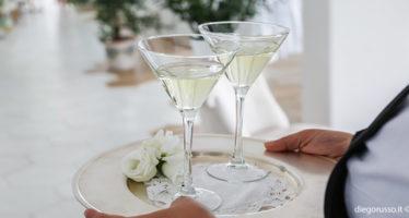Wedding: brindisi in sala