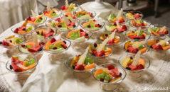 Dessert di frutta