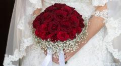 Bouquet di rose rosse