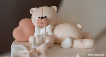 Orsetto: un tenero cake topper