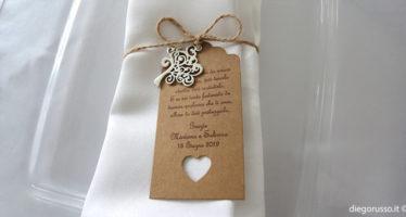 Segnaposto matrimonio: albero della vita