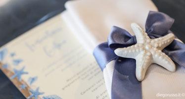 Segnaposto: stella marina