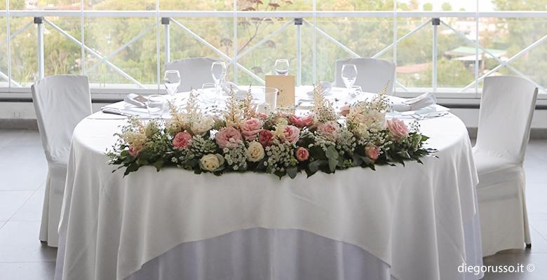 Wedding: centrotavola colorato