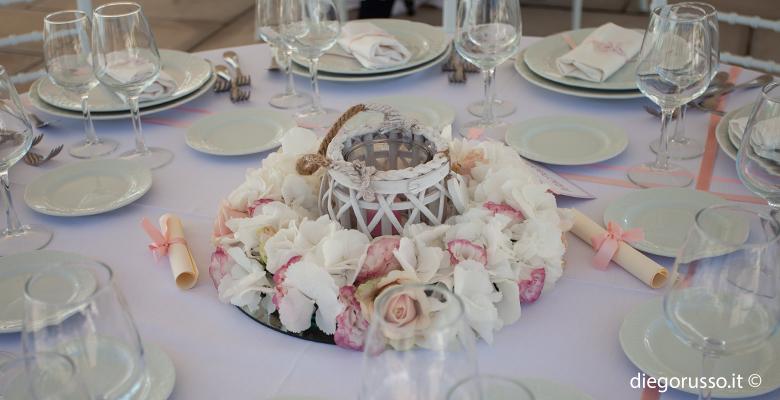 Wedding: centrotavola shabby chic