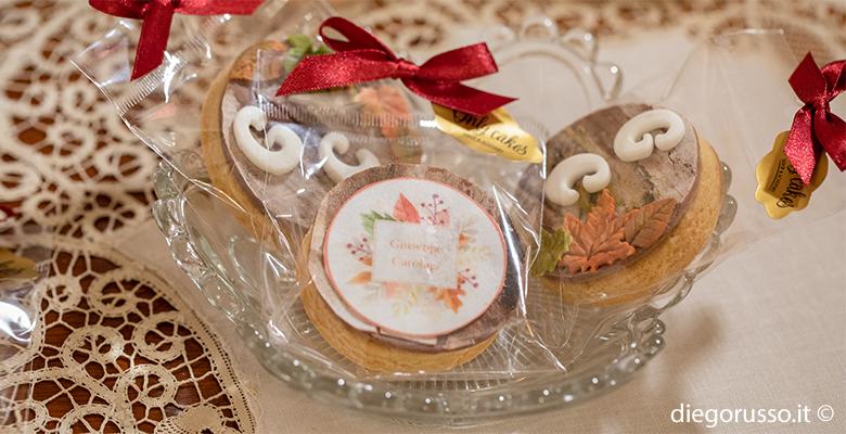 Biscotti originali per tavolo dolci