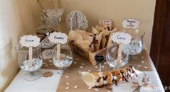 Casa sposi: confettata chic