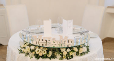 Wedding table: le decorazioni