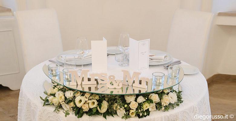 Wedding table: le decorazioni