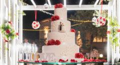 Romantica wedding cake