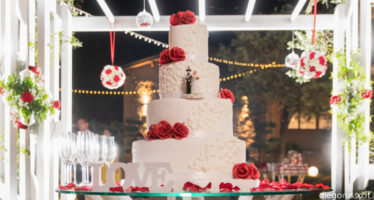 Romantica wedding cake