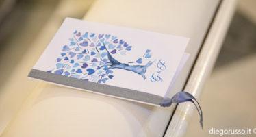 Tema albero della vita per matrimonio