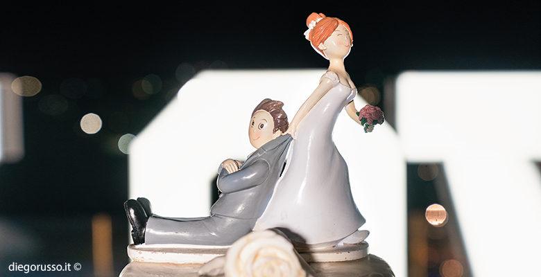 Wedding: cake topper